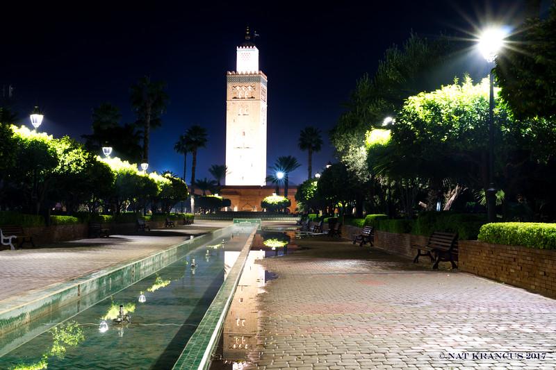Fountain Under Koutoubia Mosque
