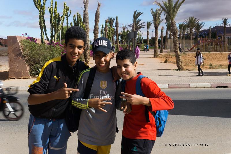 Boys in Guelmim