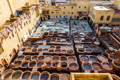 Chouara Tannery, Fez (almost 1,000 years old)