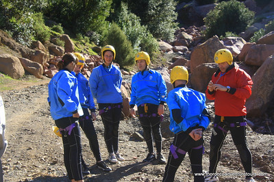 Canyoning between atlas mountain just 45 min from marrakech join us at www.moroccoadventuretours.com