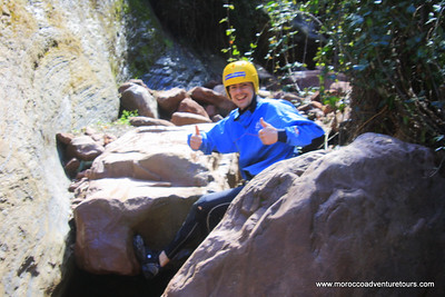 A half day adventure canyoning between Atlas mountain enjoin us at www.moroccoadventuretours.com