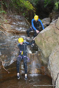 Canyoning with Splash Morocco just just 45 min from Marrakech join us at www.Moroccoadventuretours.com