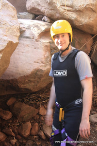 Canyoning adventure at atlas mountain just 45 min from marrakech join us at  www.moroccoadventuretours.com
