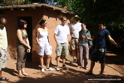 A day valley tour adventure vsit a berber house ,camel ride ,visit some waterfalls and lunch at one restaurant beside the river join us at http://www.moroccoadventuretours.com edit