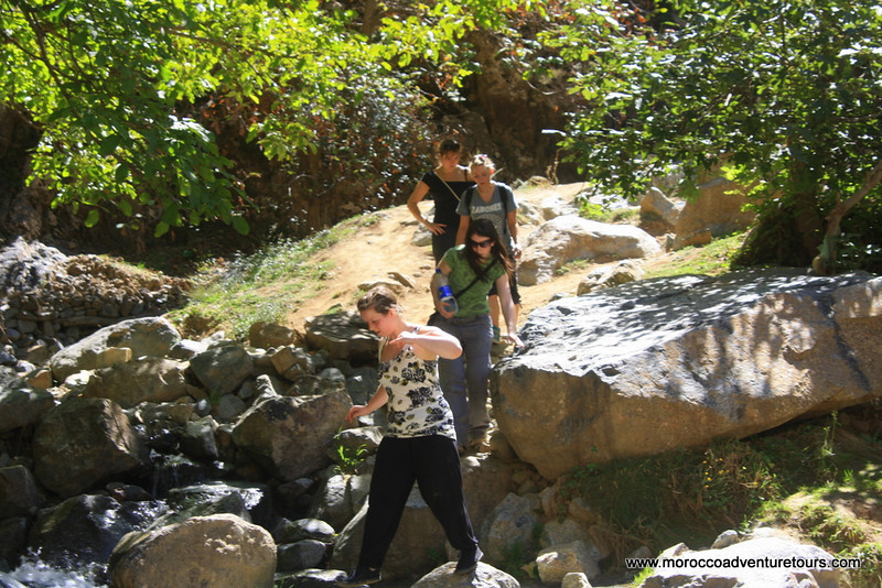 Ourika Valley Tour to Seti Fatima in the Ourika Valley just outside Marrakech, join us at http://moroccoadventuretours.com