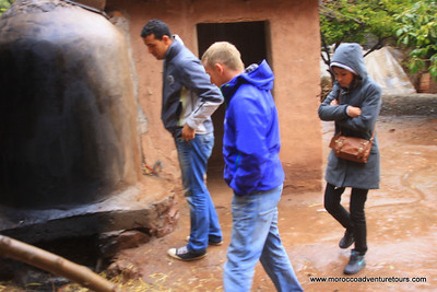 A full day Adventure with splash morocco : visiting a traditional  berber house ,camel ride , some trekking to visit some waterfalls enjoin us at www.moroccoadventuretours.com.