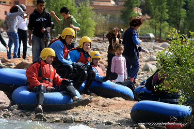 Ourika Valley Tour combined with whitewater tubing in the Ourika Valley just outside Marrakech, join us at http://moroccoadventuretours.com