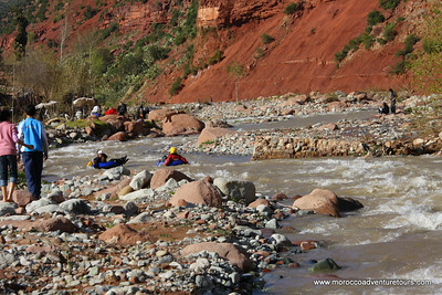 River Tubing Morocco with http://moroccoadventuretours.com Join Us! it is fun