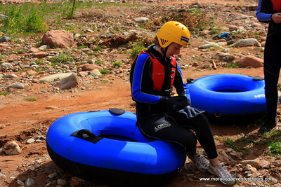 River Tubing Ourika Valley Marrakech with http://www.moroccoadventuretours.com