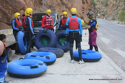 tubing at Ourika Valley Morocco Adventure Tours