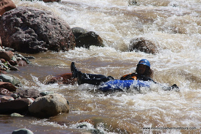 A quick getaway to Morocco and looking for something just a little different? Splash Morocco has the answer. We'll take you out of Marrakech to the majestic High Atlas Mountains where you will discover the beauty of the Ourika Valley and the many Berber villages dotted throughout. Then we will hit the Ourika River for some action-packed whitewater tubing. Forget the cruisy float trip on a tube, this is a trip for the adrenaline junkie. So if you're looking for something just a little out of the ordinary during your stay here, tubing on the river is definitely the answer for you! Join us at Splash Morocco!!