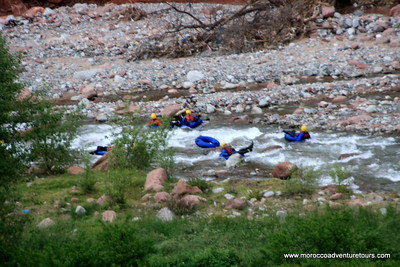 Whitewater Tubing Ourika River near Marrakech, join us at http://www.moroccoadventuretours.com