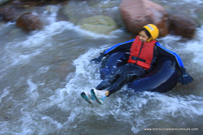 Adventure tubes at ourika river just 45 minutes fro Marrakech