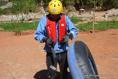 a half day tubes adventure at ourika valley just 45 min from Marrakech join us at www.moroccoadventuretours.com