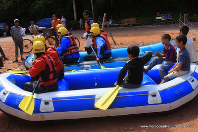 A half day rafting adventure at Ourika river just 45 min the Marrakech enjoin us at www.moroccoadventuretours.com