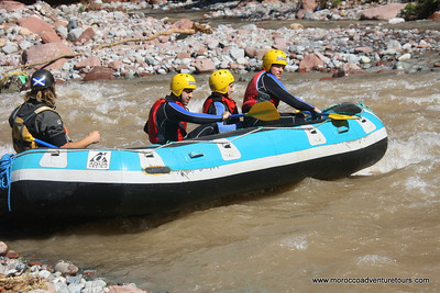 Morocco Whitewater Rafting on Ourika River near Marrakech, join us at http://moroccoadventuretours.com