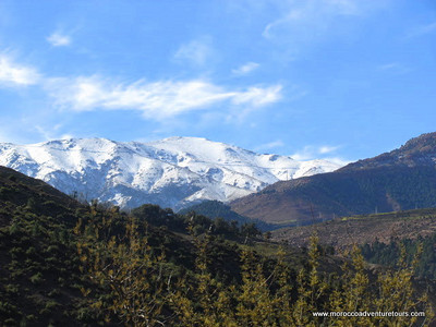4x4 adventure tour to discover the Moroccan ski resort and to see clearly  the highest peak in the North Africa (Jabal Toubkal).
