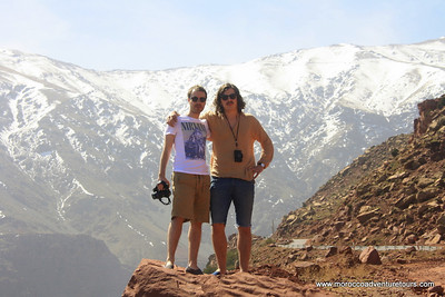 A 4x4 day adventure to visit Atlas mountain ,Moroccan Ski resort and see clearly  the highest peak of the north Africa. join us at www.moroccoadventuretours.com