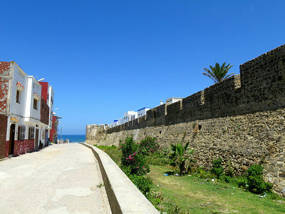 walk to the sea, asilah, morocco