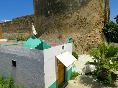 shrine, asilah, morocco