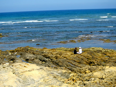 friends by the sea, asilah, morocco