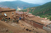 Berber village in the the Atlas Mountains of Morocco.