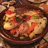 Having tagine for dinner at Dades Gorge