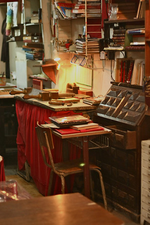 Bookbinding in Tangier