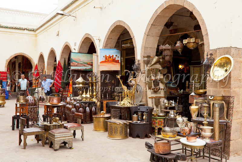 The Modern Market In The Habous Quarter In Casablanca, Morocco.