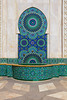 Architectural details of the Mohammed V mosque in Casablanca, Morocco,