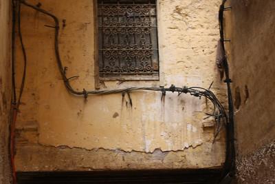 Fes medina wiring
