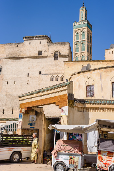 Entrance into the Medina
