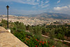 A military castle and a view of Fes, Morocco.