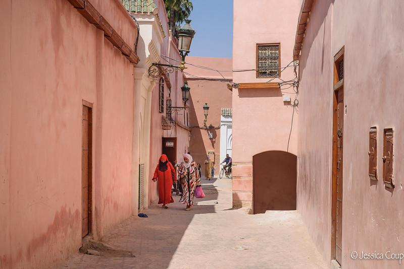 Back Street of Marrakesh