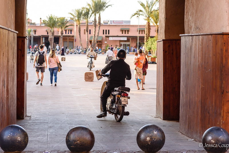 Biking Thru the Old Town