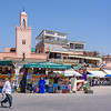 Daytime in the Jemaa El-Fnaa Square