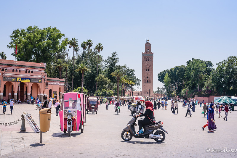 Life in the Shadow of Koutoubia Mosque