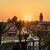 Sunset Over Marrakesh