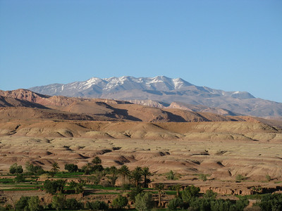 High Atlas in spring