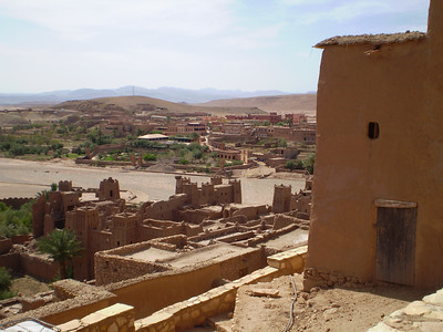 Ait Ben Haddou: view from the kasbah
