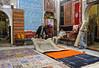Carpet showroom, Marrakech, Mon 28 April 2014