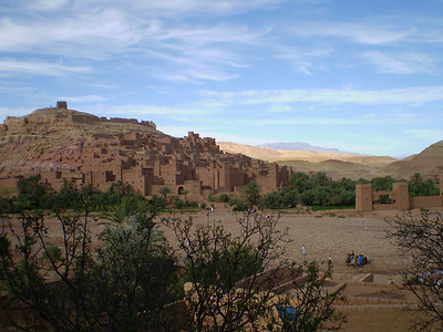 Ait Ben Haddou Oued and Kasbah