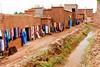 Shops in the Ait Benhaddou Casbah near Ourzazate, Morocco.