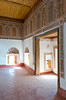 Inerior architecture of the Taourit Casbah in Ourzazate, Morocco.
