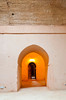 Architecture of the ruined casbah in Rabat, Morocco,