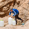 Filling the Water Jugs at the Source