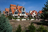 Swiss architecture in the village of Ifrane, Morocco.