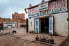 A small shop in a village in the Draa Valley in southern Morocco.