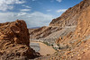 The high Atlas mountains in southern Morocco.