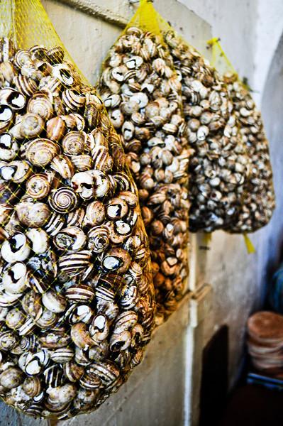 Market in Tangier, Morocco.